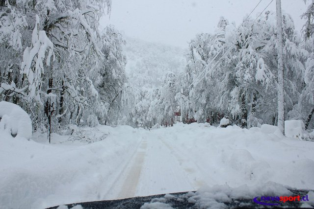 Estado de Caminos a Centros de Ski