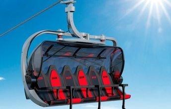Pizol proponer subir a sus esquiadores en un Porsche