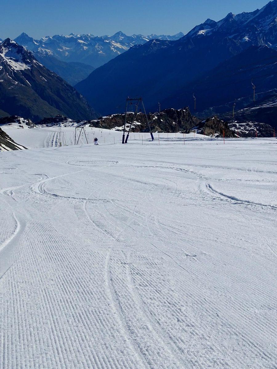 Cervinia-Zermatt, Junio 2021 ......No quería ir a esquiar, pero me han liado!