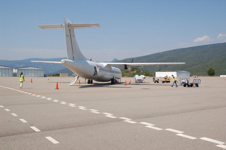 Inauguración del aeropuerto Andorra - La Seu