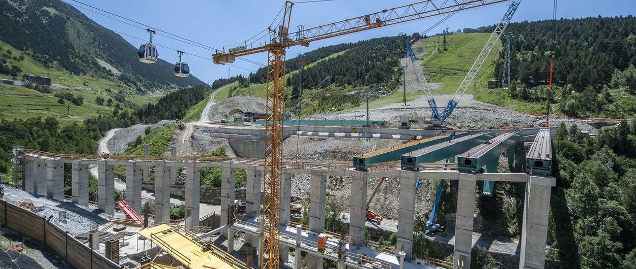 La Plataforma de Soldeu se inaugurará dentro de 235 días