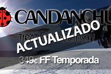 FF Temporada Candanchú: Información, condiciones y novedades