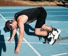 Nuevo récord del mundo de los 100 metros lisos en botas de esquí