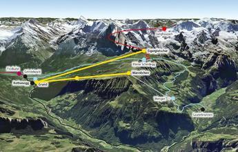 V-Bahn: Jungfrau invierte 415 millones en un colosal proyecto