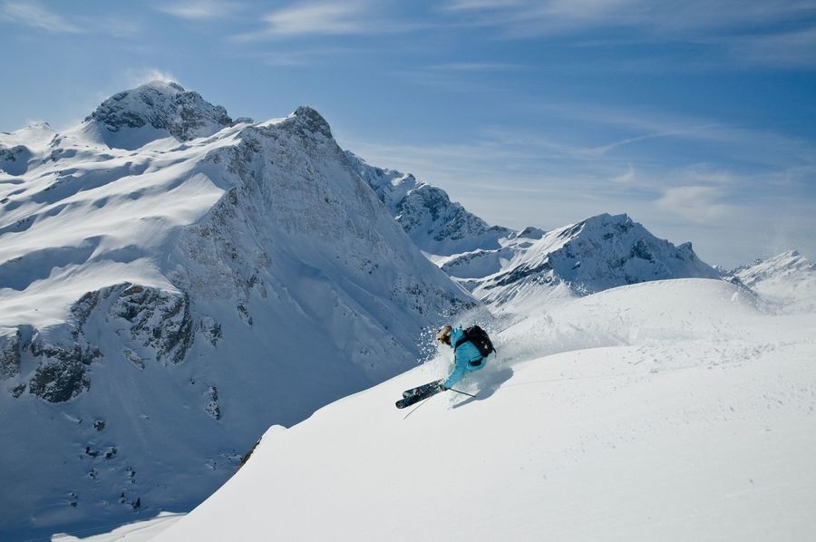 esquiar en austria
