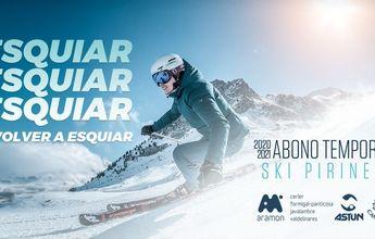Forfait Ski Pirineos 20-21: Más ventajas y paga sólo por lo que esquías