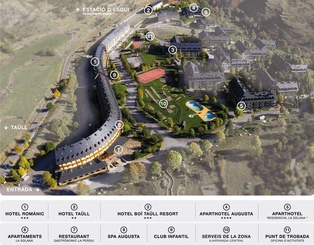 Bo taull aprueba un plan para crecer hasta los 80 km de pistas noticias - Apartamentos boi taull resort ...