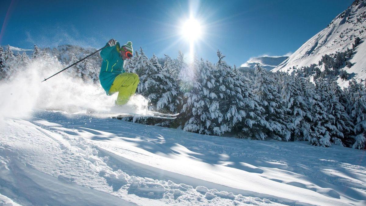 Esquiador en Teruel