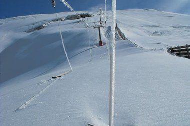 Más nieve y más hielo