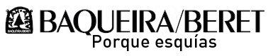 Fotografía del logotipo de Baqueira Beret