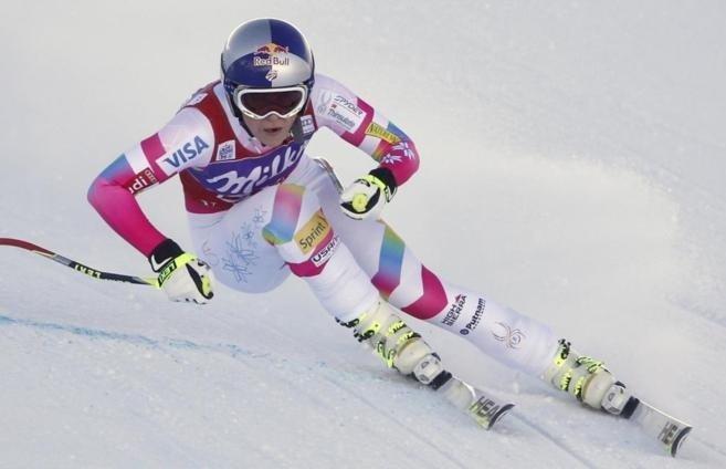 Lindsey Vonn gana el Descenso de Val d'Isère
