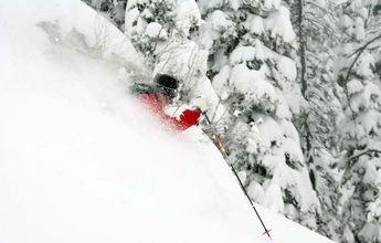 A Jackson Hole le ha caído ya casi 5'5 metros de nieve