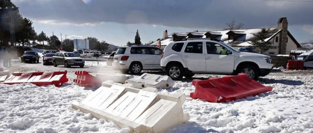 Los aparcamientos de Navacerrada no serán de pago