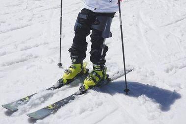 Xnowers: exoesqueleto de invención vasca para esquiar sin cansarnos!