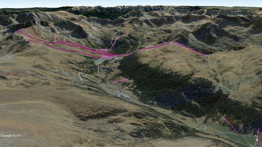 Vista Google Earth Grau Roig Temporada 2020/21