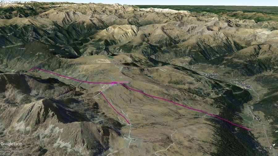 Vista Google Earth Encamp Temporada 2020/21