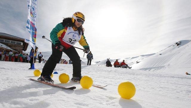 Campeonatos de Discapacitados en Sierra Nevada