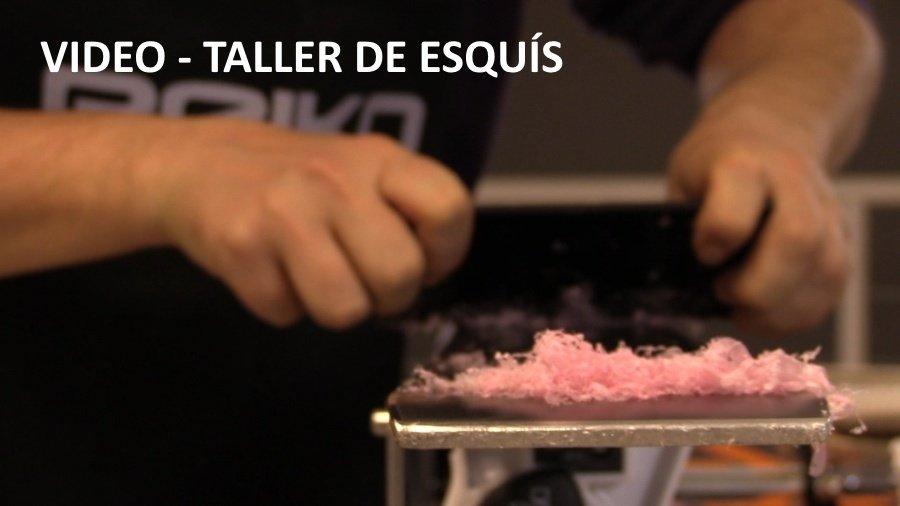 video taller esquis