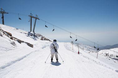 Un misil sobrevuela una pista de esquí en Israel y cierran la estación