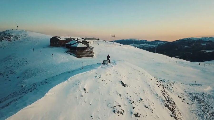 vista aerea Refugi Niu de l`´Aliga