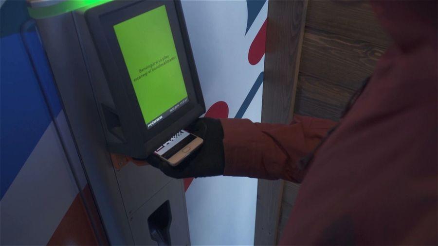 Maquina automática de La Molina