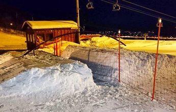 Una estación noruega coloca vallas anti-novatos en su snowpark