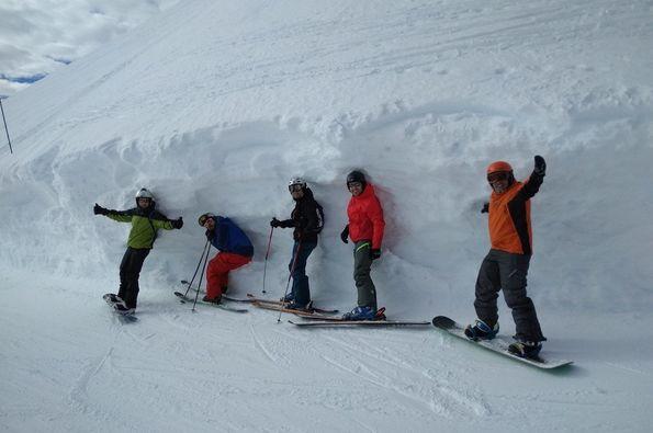 Expedición  burgalesa a Evasion Mont  Blanc