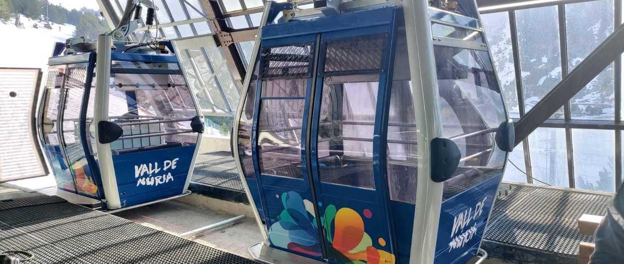 Vall de Núria convierte su telecabina pulse en un teleférico