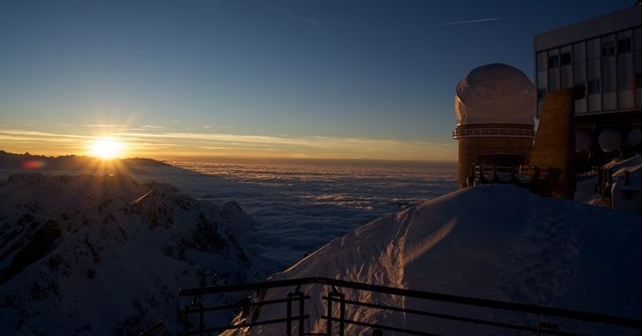 Pic du Midi de Bigorre, un santuario del esquí entre nubes y estrellas