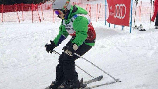 Estudiante de Chillán gana oro en las Olimpiadas Especiales de Invierno
