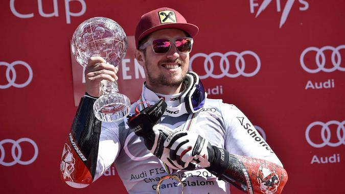 Imparable: Marcel Hirscher gana su sexta Copa del Mundo consecutiva