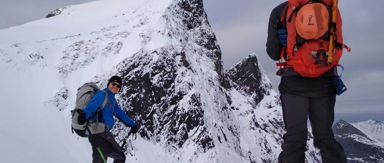 Lofoten y Lyngen: ¿Son estas las mejores montañas para esquiar en Noruega?