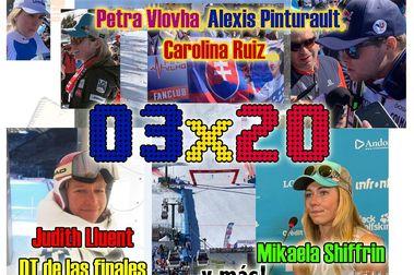 03x20 Especial Finales de la Copa del Mundo, con Shiffrin, Pinturault, Vlovha... y más!!