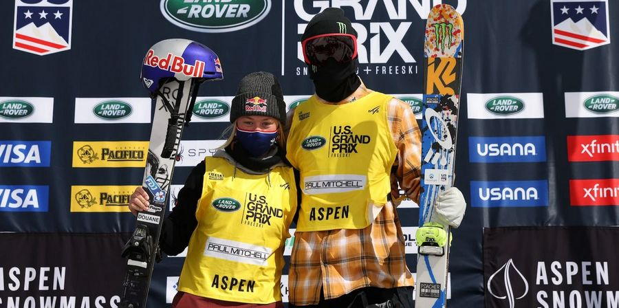 Colby Stevenson y Tess Ledeux, ganadores en slopestyle