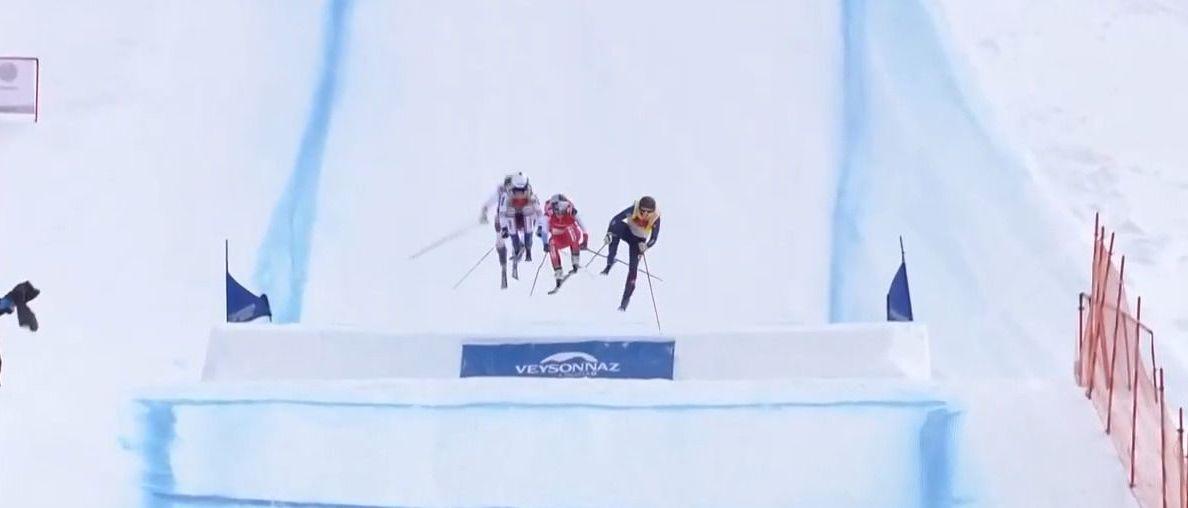 Fanny Smith y Reece Howden campeones del mundo en esquí cross