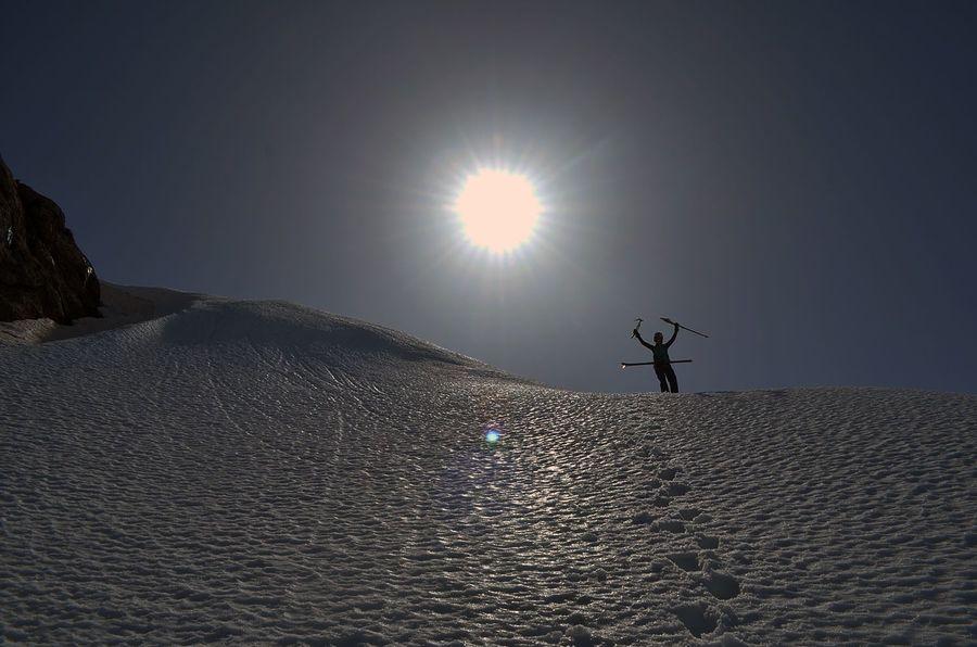 entre dos nieves. Ricardo Montoro.