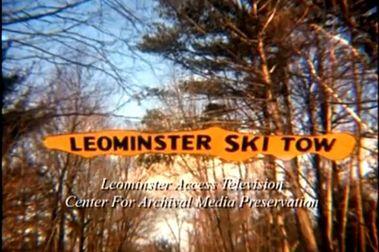 Leomister Ski Area (MA, EEUU) a principios de 1940