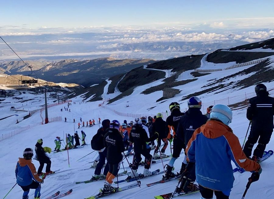 Copa de España esqui Masters en Sierra Nevada