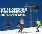 Aspen vuelve a abrir un fin de semana mas