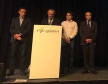 Miembros de la RFEDI en el Congreso FIS de Grecia