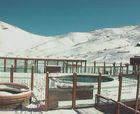 Valle Nevado amaneció de blanco
