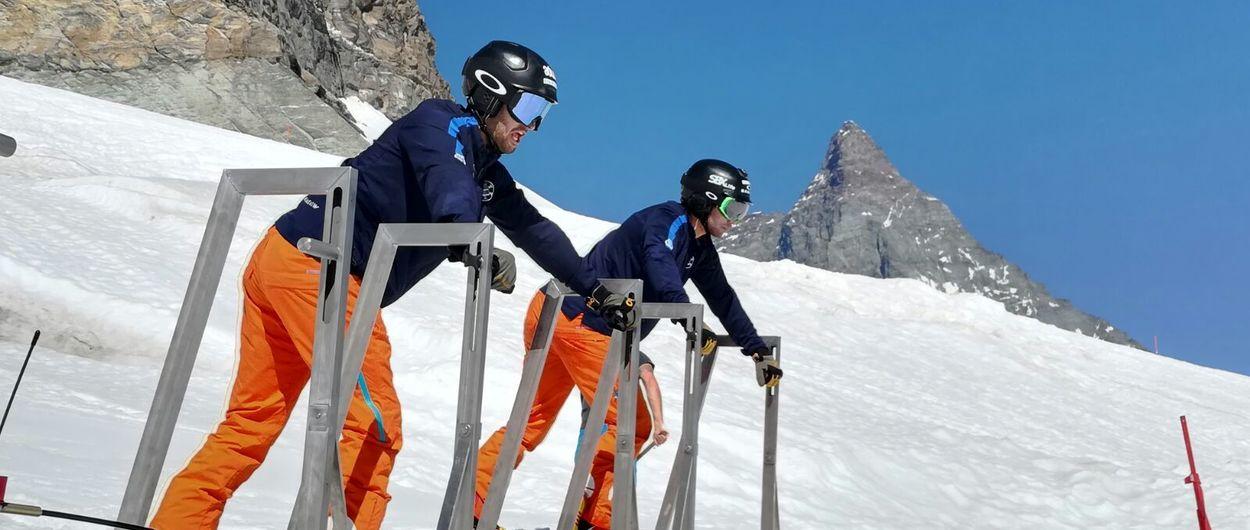 Los equipos de la RFEDI empiezan la pretemporada sobre nieve