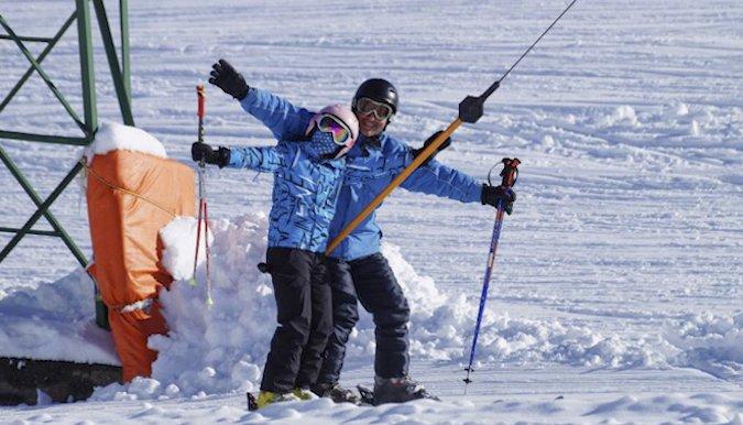 Antillanca también comenzó la temporada de nieve 2017