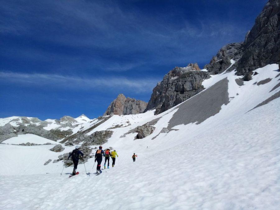 Ocho meses de esquí en la Cantábrica... o quizás nueve?