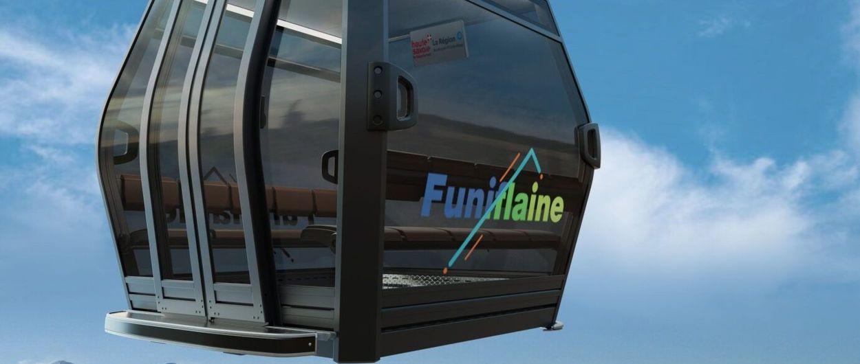 La estación de esquí de Flaine tendrá un Funitel de 5,3 km que le conectará al pueblo