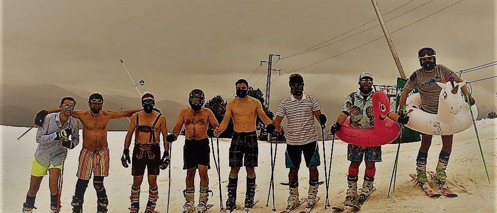 Cómo olvidarse del esquí en verano