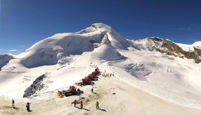 Saas fee esquí de verano