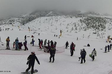 ¡Todo Los Andes cubierto de blanco!