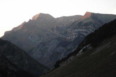 Ascensión a la LLana del Bozo. 2566 metros.