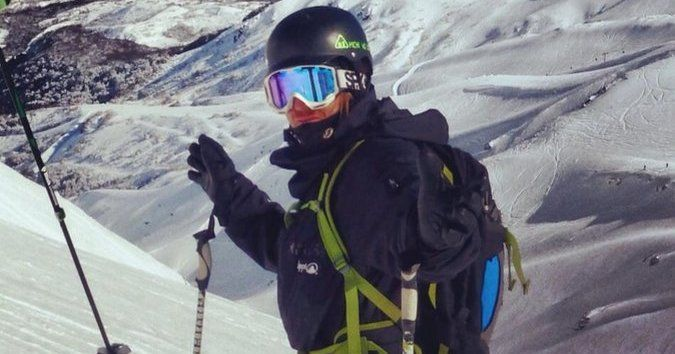 """Campaña de ayuda esquiador accidentado """"Andy"""" Bayer"""